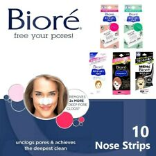 NEW Biore Deep Cleansing Nose Strips Removes Blackheads Pore Pack Womens Mens