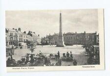 Postcard Ripon Market Place War Memorial