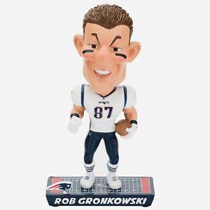 "New England Patriots Rob Gronkowski Caricature Bobble Head 8"" NIB"