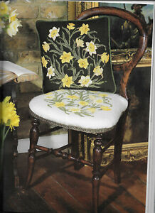 Tulips Daffodils Beth Russell Needlework Tapestry Needlepoint Charts 3 Designs