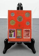 Collectible Italy Vatican Souvenir Vaticano Stamps & Coins - Pope John Paul II