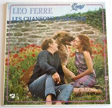 33 TOURS LEO FERRE LES CHANSONS D'ARAGON en 1970 BARCLAY 80.343 B ELSA