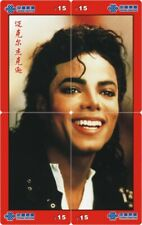 Michael Jackson 4 telefoonkaarten/télécartes  (MJ65-77 4p)