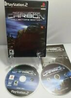 Need for Speed Carbon Collectors Edition PS2 Complete w/Manual