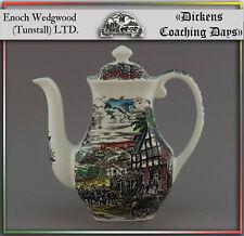 """Eine Kaffeekanne H22cm """"Dickens Coaching Days"""" von Enoch Wedgwood england"""