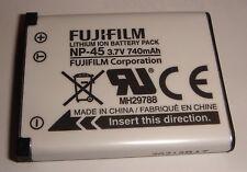 Batterie D'ORIGINE FUJIFILM NP-45 Casio Exilim EX-Z330