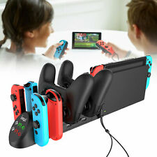 6 in 1 Charger Pro Controller Charging Dock Station for Nintendo Switch Joy-Con