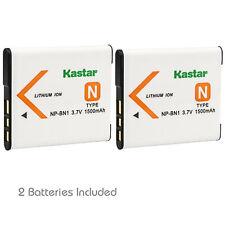 Kastar NP-BN1 NPBN1 Li-ion Battery for Sony Cyber-shot DSC-QX10 DSC-QX100 Camera