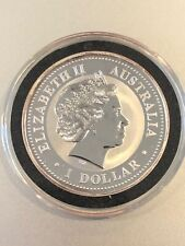 1999  Australian Kookaburra -GEORGIA PRIVY - 1 Troy Ounce of .999 Fine Silver