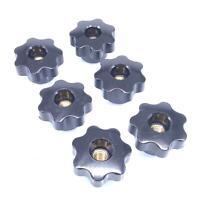 1pcs M10 hand twist Screws knob turn tighten bolts plum handle rotate screw bolt