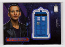 Topps Doctor Who 2015 9th Ninth Doctor Purple Parallel Tardis Patch Card 28/99