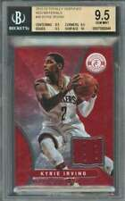 Kyrie Irving 2012-13 Totally Certified Red Material #30 BGS 9.5 (9.5 9.5 9.5 10)