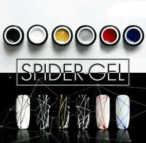 SPIDER GEL 3D Nail art paint design UV/LED Drawing Elastic Line Painting Gel