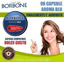 90 CAPSULE CAFFE BORBONE MISCELA BLU COMPATIBILI DOLCE GUSTO DOLCEGUSTO CIALDE