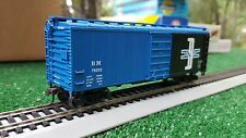 ho scale Boston and Maine 40' boxcar