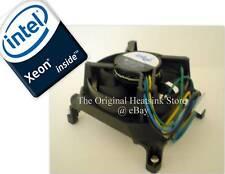 Intel Xeon Fan 12 V DC for Socket J LGA771 5000, 5100, 5300 Series Heatsink New