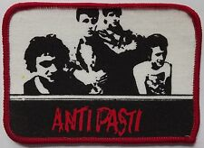 ANTI PASTI Vintage 70`s/80`s Printed Sew On Patch Punk Rock
