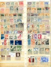 Mexico 110 Different Stamps Lot Vf