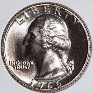 1966 Washington Quarter SMS Special Mint Set 25c Coin Twenty Five Cents