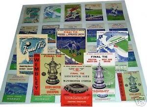 FA Cup Final Trading Card Set Vol II FREE UK POSTAGE
