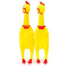 Pollo de goma como un juguete de goma Carnival Novedades pollo con sonajero