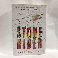 Stone Rider by David Hofmeyr HC DJ 1st/1st Free Shipping
