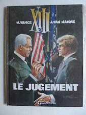 W. Vance &  J. Van Hamme - XIII. Tome 12.  Le Jugement  /   EO  1997