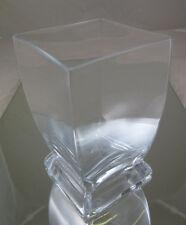 VASO IN VETRO DESIGN META' NOVECENTO DANIMARCA VINTAGE GLASS FLOWER VASE R24