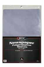 Case of 1000 BCW 14 X 19 Newspaper Acid Poly Sleeves 14x19