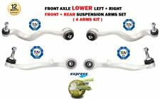 FOR BMW 525i 530i 535 2003-> FRONT LOWER front REAR SUSPENSION CONTROL 4 ARM SET