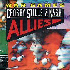 "7"" Crosby, Stills & Nash – War Games // Germany 1983"