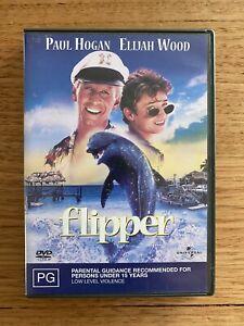 Flipper DVD (2003) Paul Hogan Elijah Wood Family Adventure Dolphin Film PAL