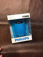 PHILIPS SOUND SHOOTER PORTABLE SPEAKER SBA3010 BLUE NEW & SEALED