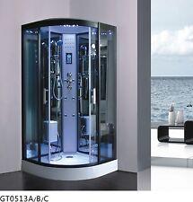 Design Deluxe Duschtempel Dampfdusche RUW513A 80x80 cm Vollausstattung