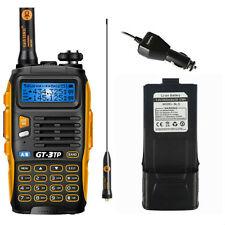 Baofeng GT-3 TP Mark III 3800mAh BATTERIA 8/4/1W PMR Radio Ham Ricetrasmittente