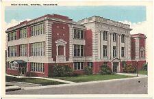 High School in Bristol TN Postcard