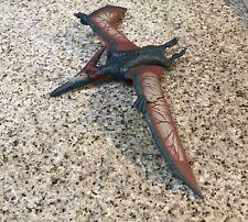 2017 Mattel Jurassic Park Fallen World Roar & Sound Pterodactyl Dinosaur Figure