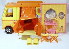 Vintage 1970 Mattel Barbie Country Camper + Extra Items