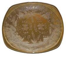 Jeannette Floragold Iridscent Dinner Plate - Vintage