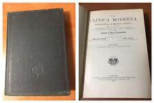 1933 - LA CLINICA MODERNA Enciclopedia di Medicina Pratica di G.e F.Klemperer