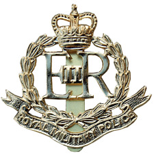 ROYAL MILITARY POLICE RMP BRASS METAL CAP BADGE BRITISH ARMY