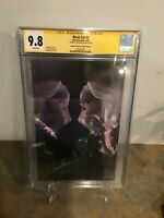 Black Cat #2 CGC SS 9.8 Virgin Variant Signed Jeehyung Lee