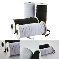 100/180M Stretch Flat Elastic Waist Band Woven Sewing Trouser Dressmaking 3/5/6m