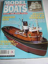 MODEL BOATS 1999 # 579 CRUISER DUO TITANIC BOWSKI NEPTUNE TRAFALGAR TRACTOR TUG