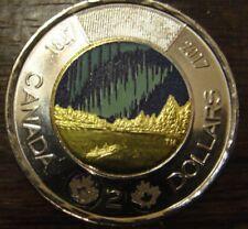 2017 2 Dollar Toonie Coin Canada 150