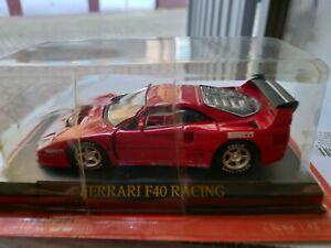 FERRARI GT COLLECTION SCALA 1/43 - F40 RACING