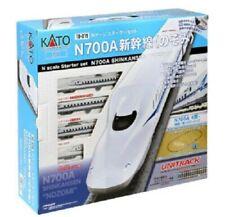 KATO N Gauge Starter Set N700A Shinkansen Nozomi 10-019 4949727676968