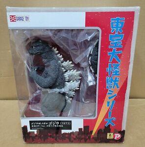 X-Plus Toho Large Monster Series Garage Toy Godzilla 1973 Version US SELLER