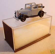 MICRO BREKINA HO 1/87 OPEL P4 GRISE DECOUVRABLE IN BOX