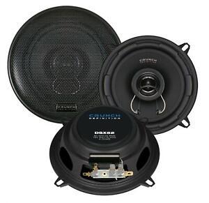 Crunch DSX52 13 cm 2-Wege-Lautsprecher 160 Watt (RMS: 80 Watt)
